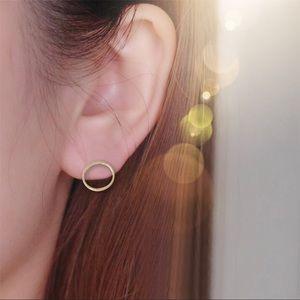 Jewelry - circle studs